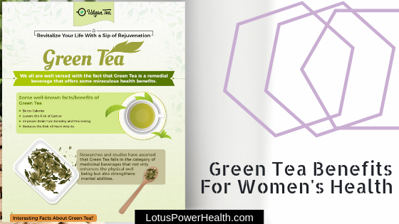 All about green tea and women's health {Guest Article}